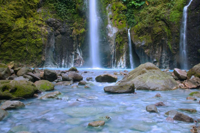 Air Terjun Telaga Dwi Warna Sibolangit