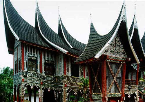 Rumah Gadang, Bangunan Khas Sumatera Barat