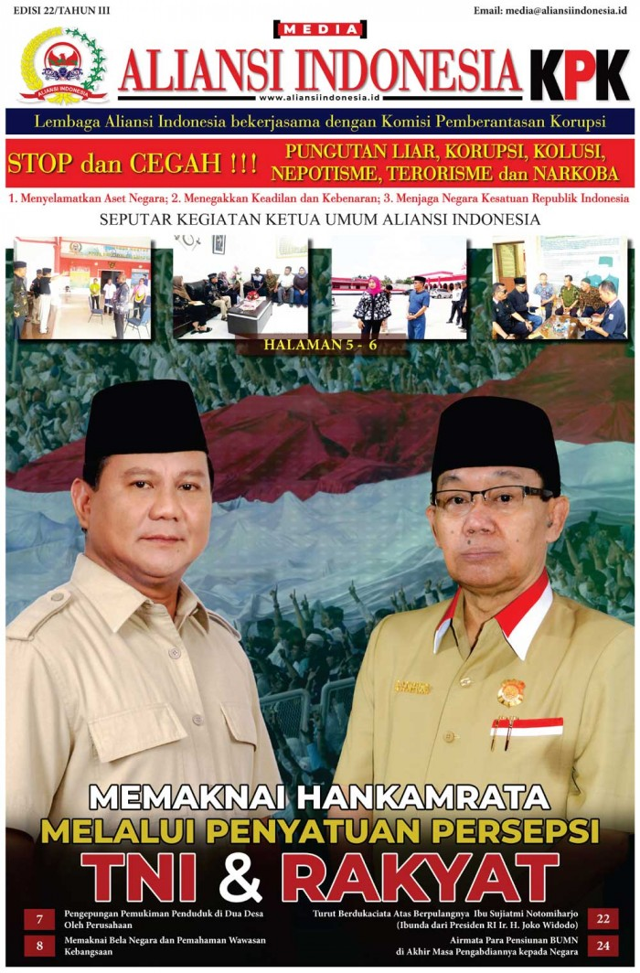 Media Aliansi Indonesia Edisi Ke-22