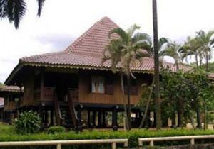 Rumah Bubungan Lima, Rumah Adat Bengkulu