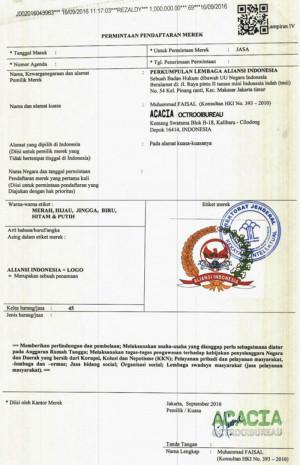 Pendaftaran Logo Aliansi Indonesia